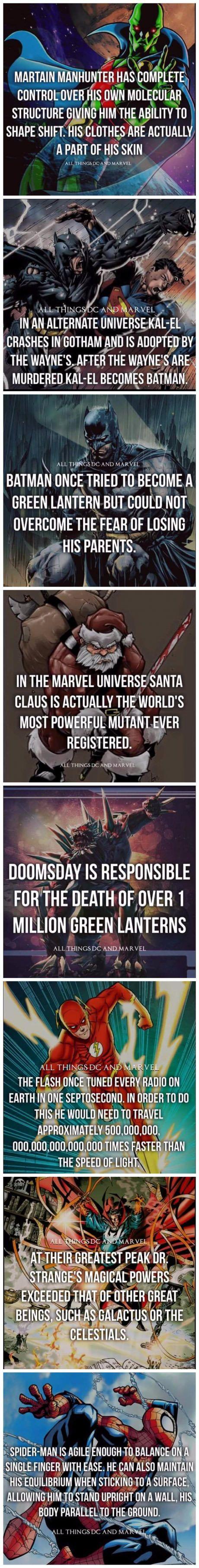 Superhero Facts: Part 2