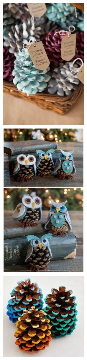 I know pinecones are usually come in fall and winter, but this little cute decors are always fun to DIY! Get it now to start your DIY, FREE shipping within 24 hours!