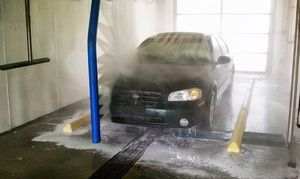 Groupon - Five or Ten Works Touchless Car Washes at Lake Lansing Road Mobil (up to 54% Off) in Groesbeck Area. Groupon deal price: $29