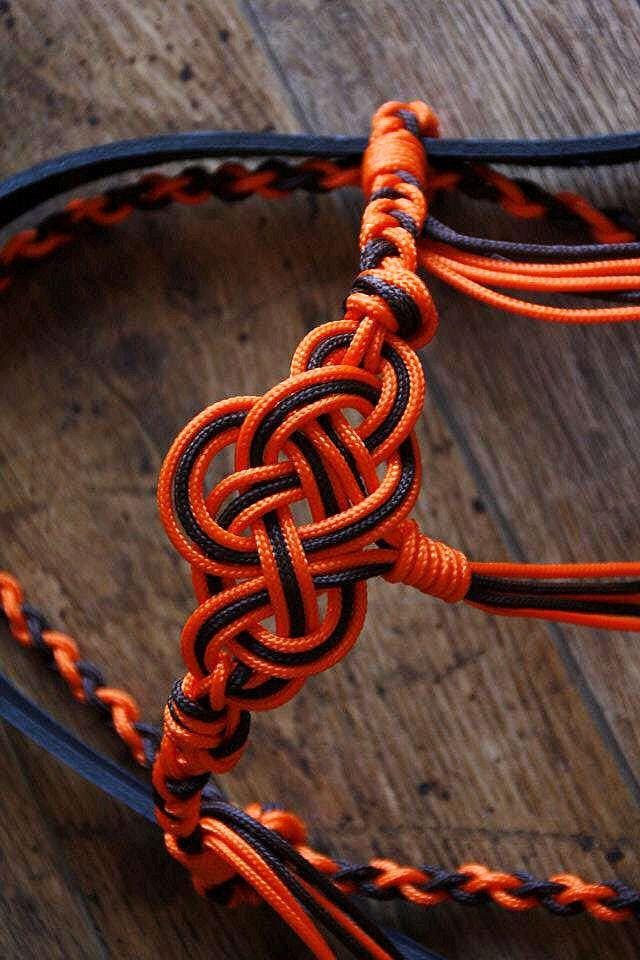 Matériel éthologique : bridon en corde pour mors
