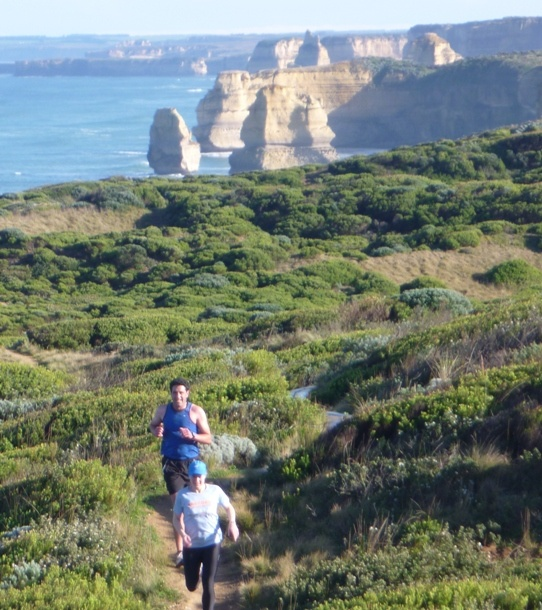 Lonely  trails, spectacular scenery = Invigorated by Nature book now on www.visit12apostles.com.au