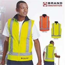 Hi Vis Vest with Reflective Tape. #highvisibility #vest #reflective tape