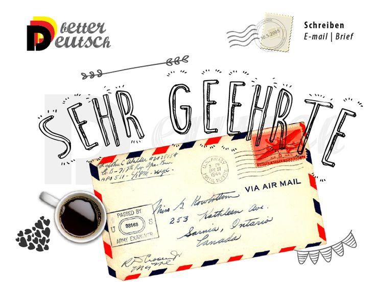 #schreiben #brief #deutsch #deutschlernen #anrede #openinggreeting