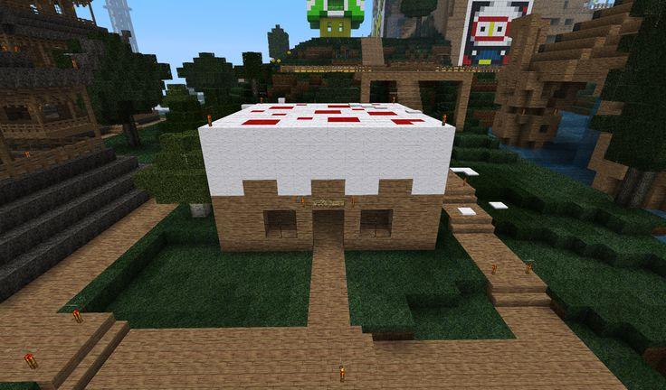 Minecraft Homes Minecraft Cake House By Yummypepsi On