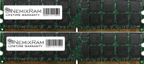 4GB (2X2GB) Nemix Ram Certified DDR2 ECC Memory for Dell Precision Workstation 470 470N 670 670N DDR2 400MHz PC2-3200. BRAND NEW! **LIFETIME WARRANTY** **SAME DAY SHIPPING**. Cas Latency 4 *** 1.8V 240 PIN ***. 100% Compatible with Servers that takes 2GB DDR2 400MHz PC2-3200 Memory. Major Brand like Samsung Micron Hynix Kingston Elpida.  #Dell #PCAccessory