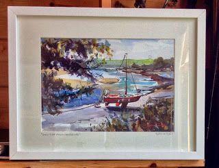 """Low Pressure High Tide"" watercolour painting .The Art of Steve PP | Steve PP - My Paintings | Pinterest | Painting, Art and Watercolor"