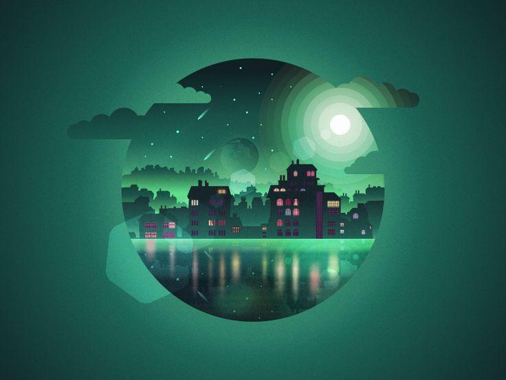 Magic City by Julien  #Design Popular #Dribbble #shots