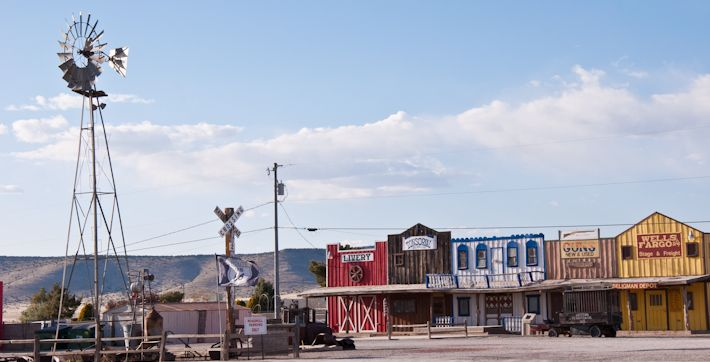 Armed robbery made convenient on Route 66! ;)