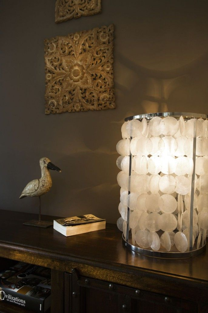Mother of pearl light
