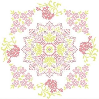 Aquarelle: ✿MANDALA FLOWERS✿