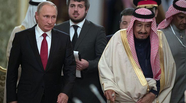 Russia & Saudi Arabia sign billion dollar deals during King's visit