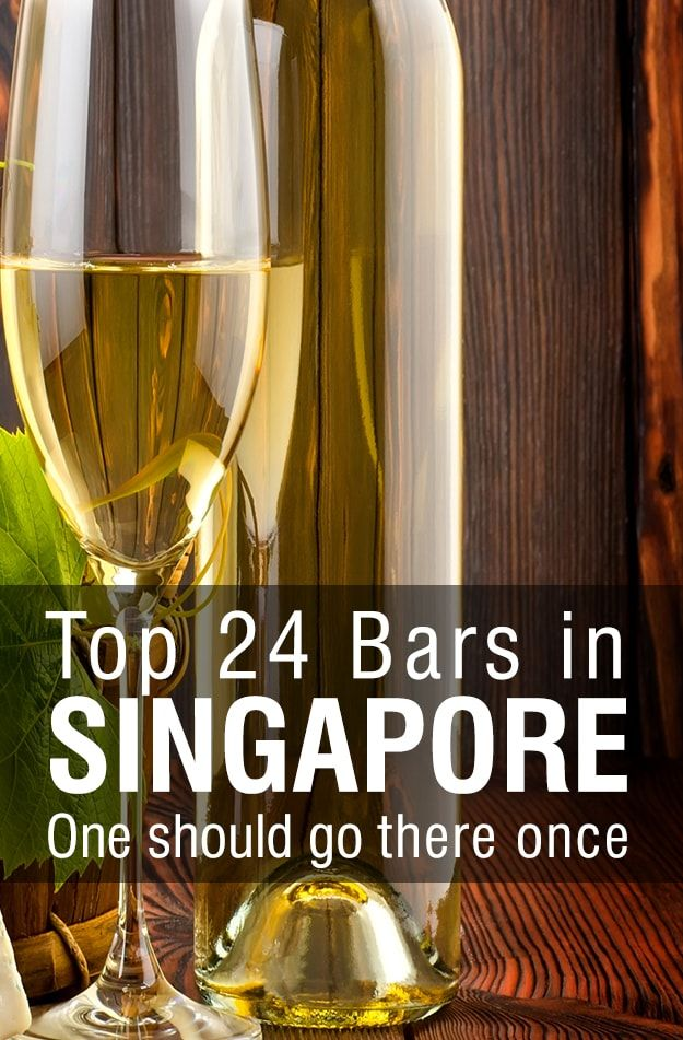 Top 24 Bars in Singapore one Should go there Once.  Read More:- http://goo.gl/oiDk7A