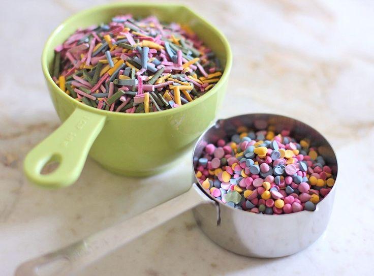 DIY Sugar-Free Rainbow Sprinkles en 42 andere zoete recepten