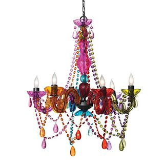 Fabulous But Funky Multi Color Chandelier For S And Rooms