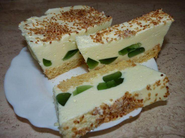Ciasto ptasie mleczko(marshmallow cake)