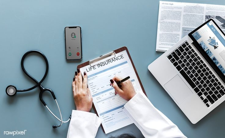 Doctor Filling Up A Life Insurance Form Free Image By Rawpixel
