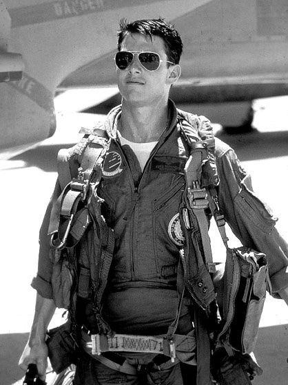 Tom Cruise. Top Gun He is a total freak now but then.. www.buildfishinglures.com www.pennylure.com www.cashobo.com