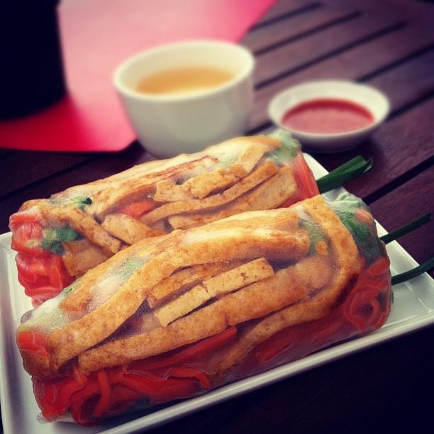 Tofu Rice Paper Rolls from Happy Little Dumplings