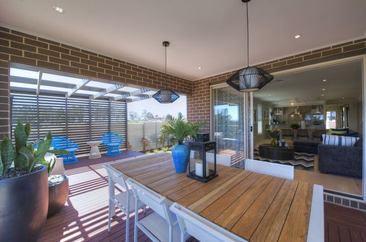 Alfresco dining/living area  #outdoor #dining #alfresco #outdoorliving