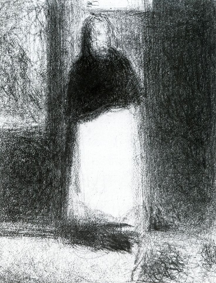 The Concierge Georges Seurat - circa 1884