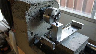 CNC lathe of concrete