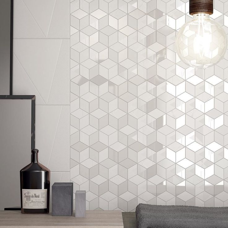 #White white white #hexagon tiles for our #Different collection mix and match http://goo.gl/ofvAoJ #marcacorona #marcacorona1741 #icff #ICFF2016 by marcacorona1741