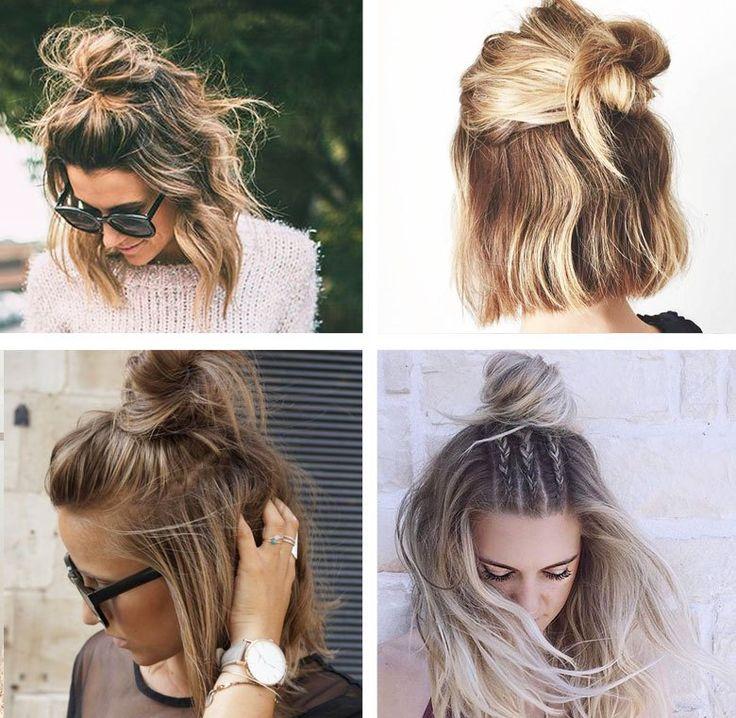 penteado para cabelo curto