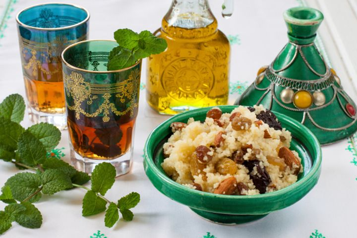 Couscous Sauteed With Dried Fruits and Nuts   The Dr. Oz Show   Follow this Dr. Oz Recipe board Now and Make it later! -- Try this meal that's a seasoned staple of North African and Middle Eastern cuisine.