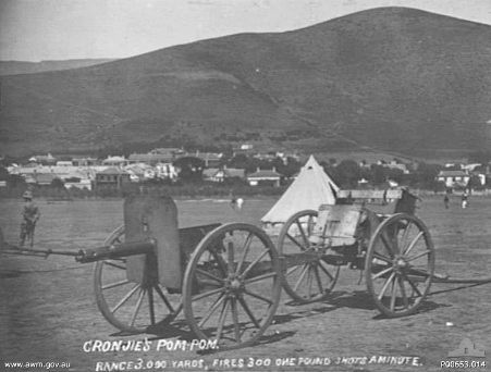 Captured Boer 1pounder. This Day in History: Aug 16,1900: The Battle of Elands River during the Second Boer War ends