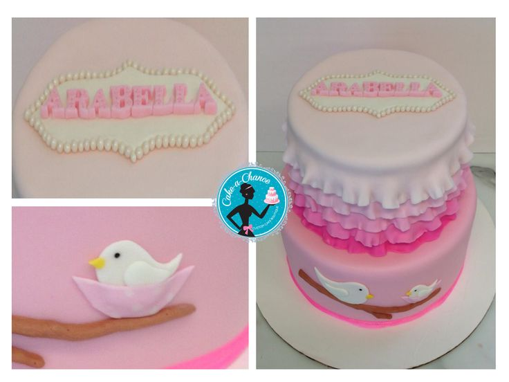 Baby shower cake by Cake-a-Chance