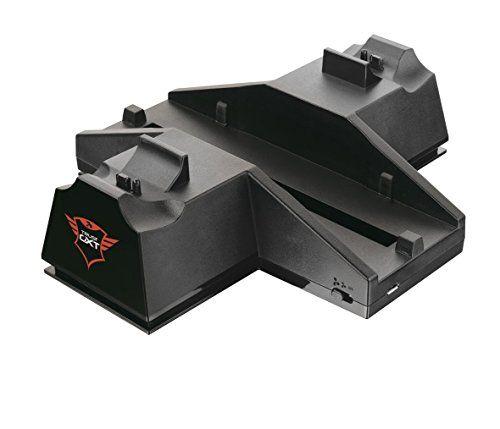 Trust GXT 702 - Soporte de refrigeración y carga para PS4, negro