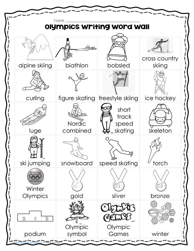 Free 21 page PDF Open-ended writing pages for winter sports with a variety of line sizes, art, and borders. Writing rubrics included for student and teacher. - See more at: http://www.buysellteach.com/Product-Detail/1449/free-winter-sports-writing-pages-with-olympics-word-wall#sthash.qCDMKWz5.dpuf