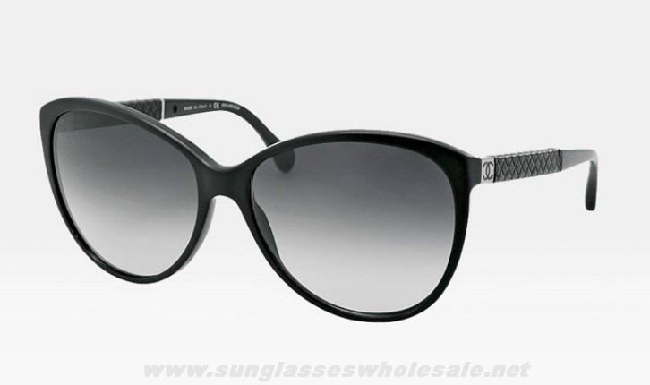 Glasses Frame Black Friday : 2014 New Chanel 2012 New 5225Q Black Frame Grey Gradient ...