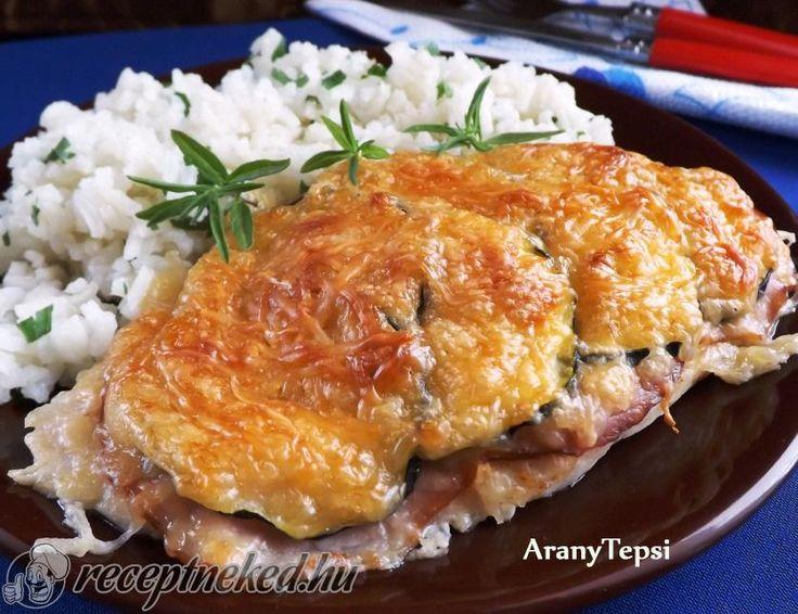 Kipróbált Sajtos-sonkás-cukkinis csirkeszelet recept egyenesen a Receptneked.hu gyűjteményéből. Küldte: aranytepsi