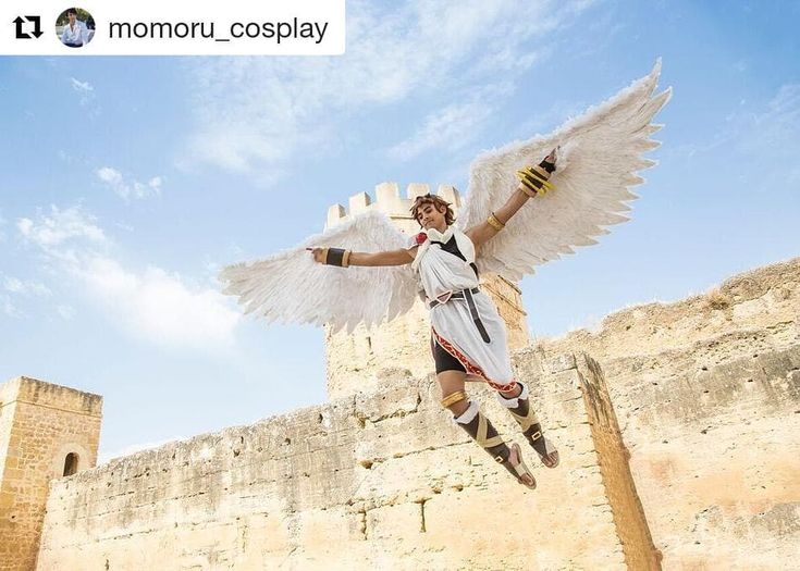 This is absolutely amazing!!!! You really need to follow @momoru_cosplay!!!!   I can believe i can fly . Personaje: Pit Videojuego: Kid icarus // Super Smash Bros Fotógrafo: @ricardoespiau.es . . . . #Pit #pitcosplay #pitkidicarus #kidikarus #kidicarus #supersmash #ssbb #ssbbw #smb #smash #supersmashbros #supersmashbrosbrawl #nintendoswitch #Nintendo #prop #angel #costume #Cosmaker #Cosplayer #cosplay #seville #sevilla