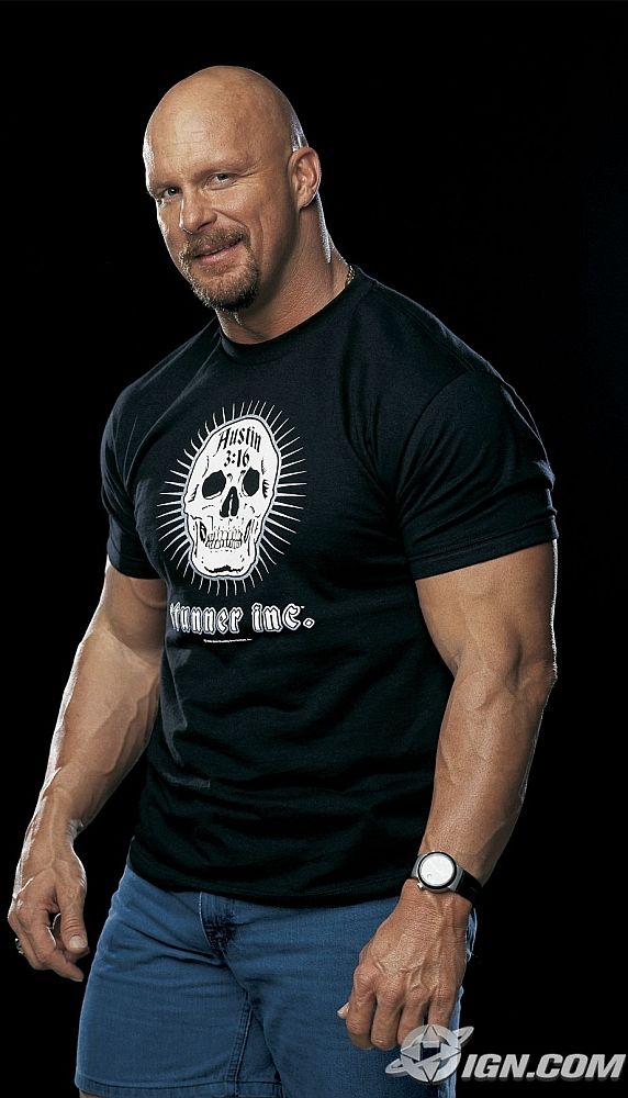"""Stone Cold"" Steve Austin I love him in everything he does!"