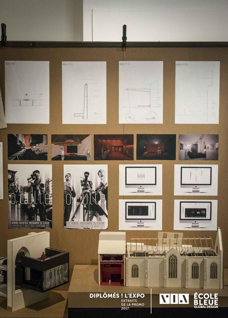 cole bleue exposition au via dipl m s l expo. Black Bedroom Furniture Sets. Home Design Ideas
