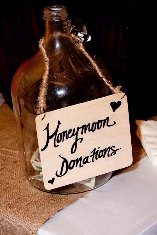 Honeymoon Donations Jar