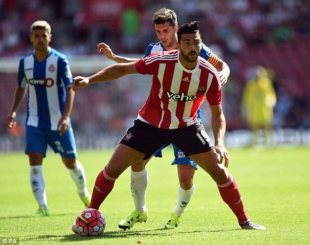 Southampton 1-1 Espanyol: Jay Rodriguez scores late equaliser as he continues to impress during his comeback from injury