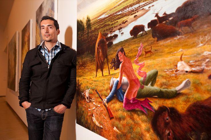 Kent Monkman, Native Canadian painter