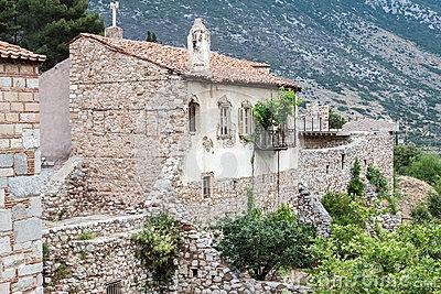 Hosios Loukas Monastery Greece .