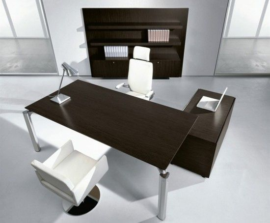 Modern office furniture off wooden and upholstered Chair