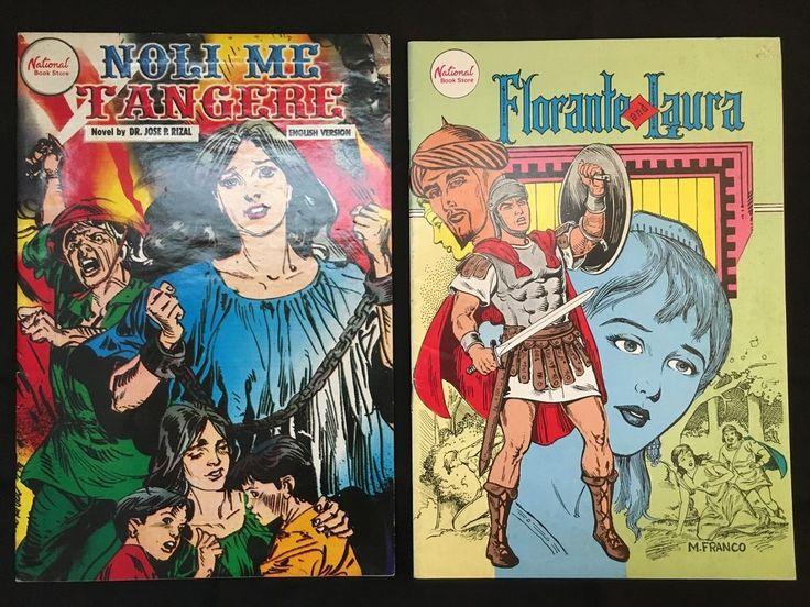 Noli Me Tangere / Florante and Laura : English Comic Books from Philippines in Books, Magazines, Comic Books | eBay!