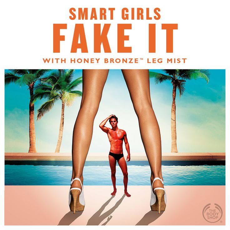 We admit it – we fake it! Do you? #potw #bottledsunshine #goldenglow #fakeit #spraytan http://www.thebodyshop.co.za/store/product/honey-bronze-tinted-leg-mist