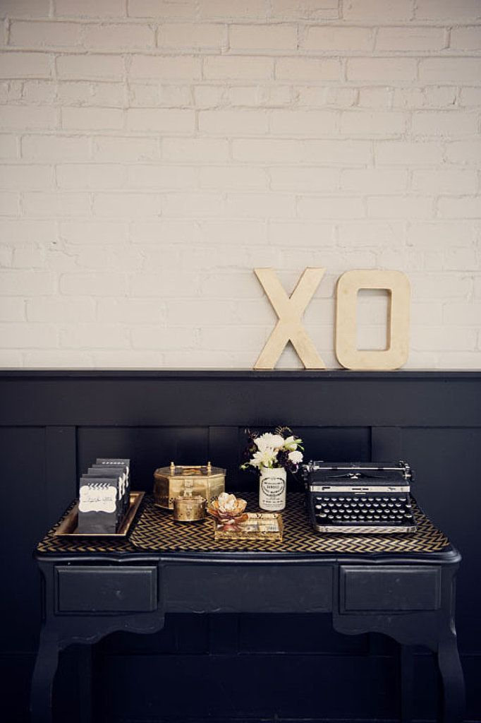 #decorative #letters #home an idea: stop at your local arts and crafts store for an affordable white version to spray paint.