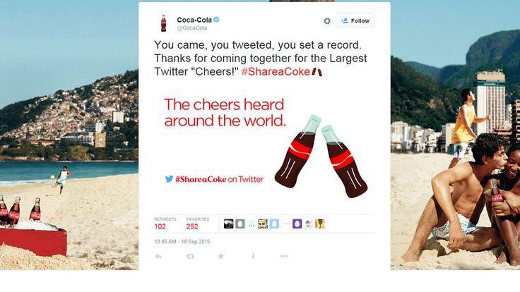 Coca-Cola emoji hits Twitter in new marketing effort - MarketWatch