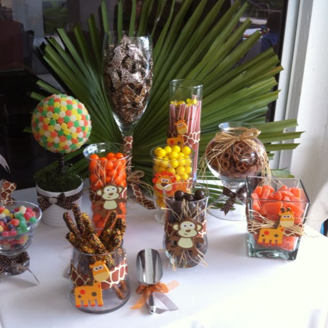 Zoo themed Candy Bar