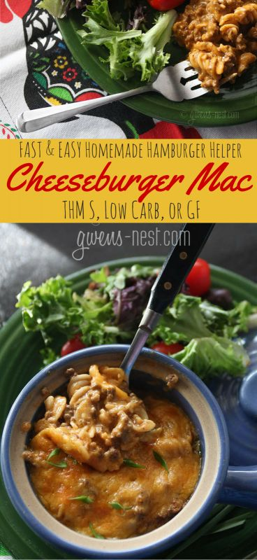 THE BEST hamburger recipe that's done in MINUTES- can be a THM S or GF recipe!!!