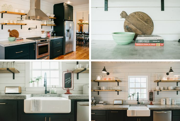Chip and Joanna Gaines' Magnolia Market in Waco, TX...the remodeled kitchen.