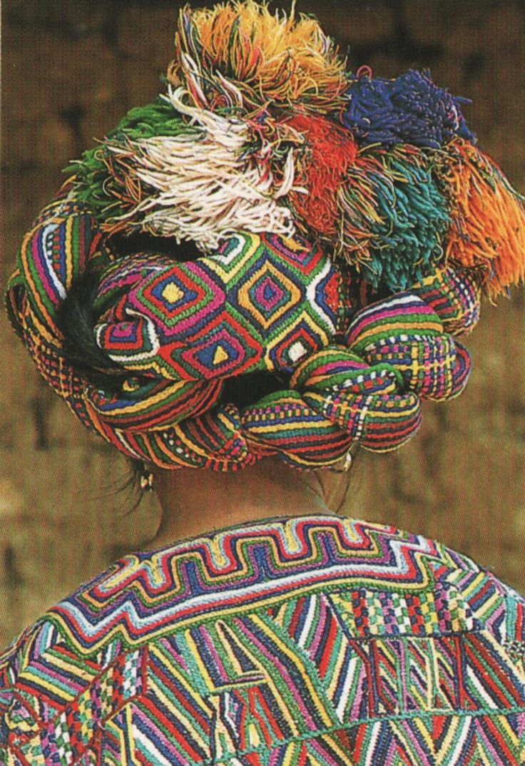 Why have one pattern when you can have more? Beautiful, colorful patterns complete with fringe!
